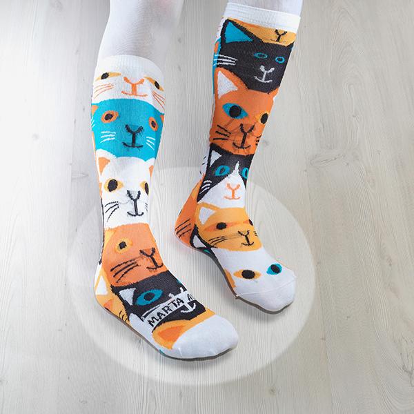 Marta Altés socks, calcetines Gatos de Marta Altés