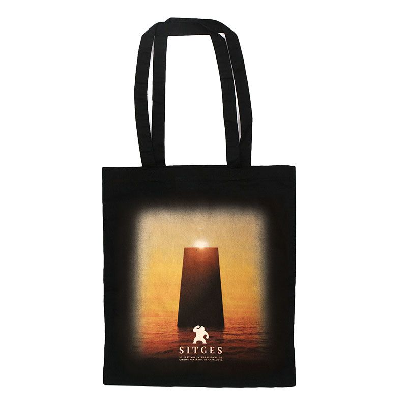 Sitges Film Festival 2018 tote bag printed with the poster image