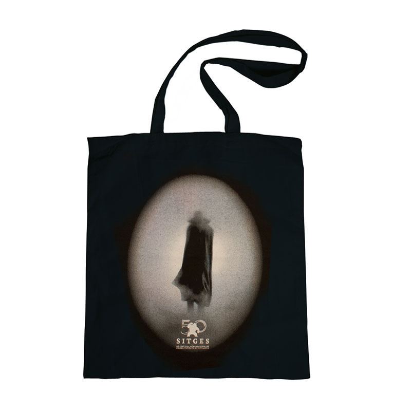 Sitges Film Festival 2017 tote bag printed with the poster image
