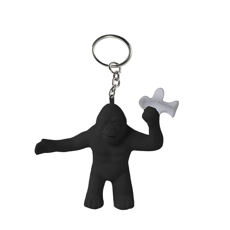 sitges film festival gorilla latex keychain
