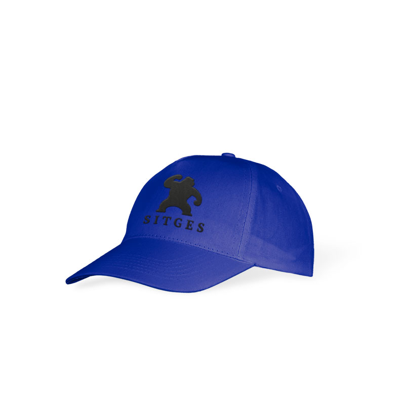 Sitges Kid's blue cap embroidered with the logotype of the Sitges Film Festival