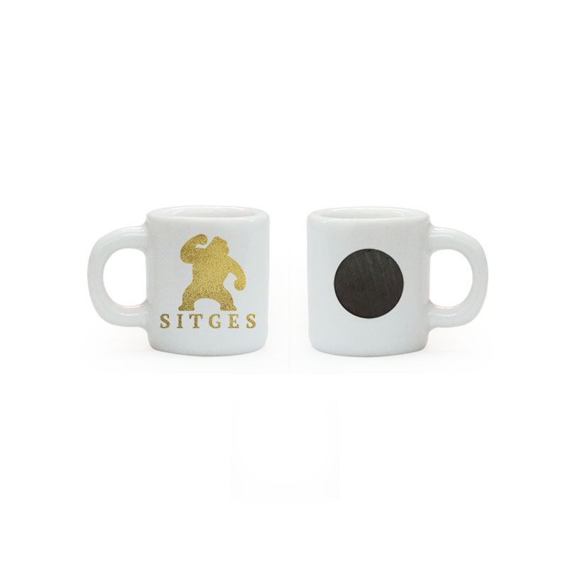 sitges film festival mini mug magnet