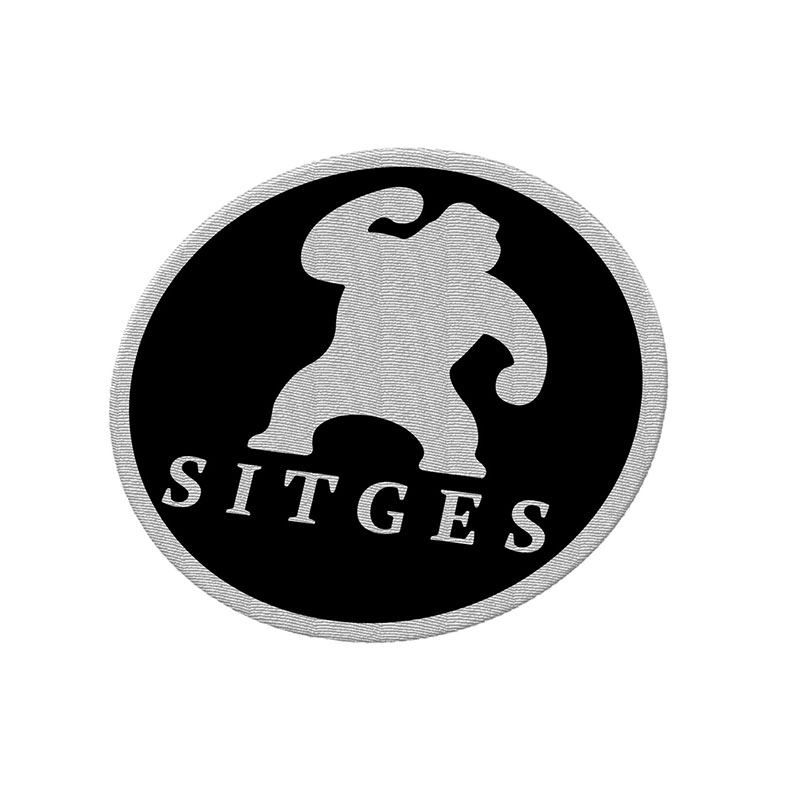 sitges film festival embroidered patch
