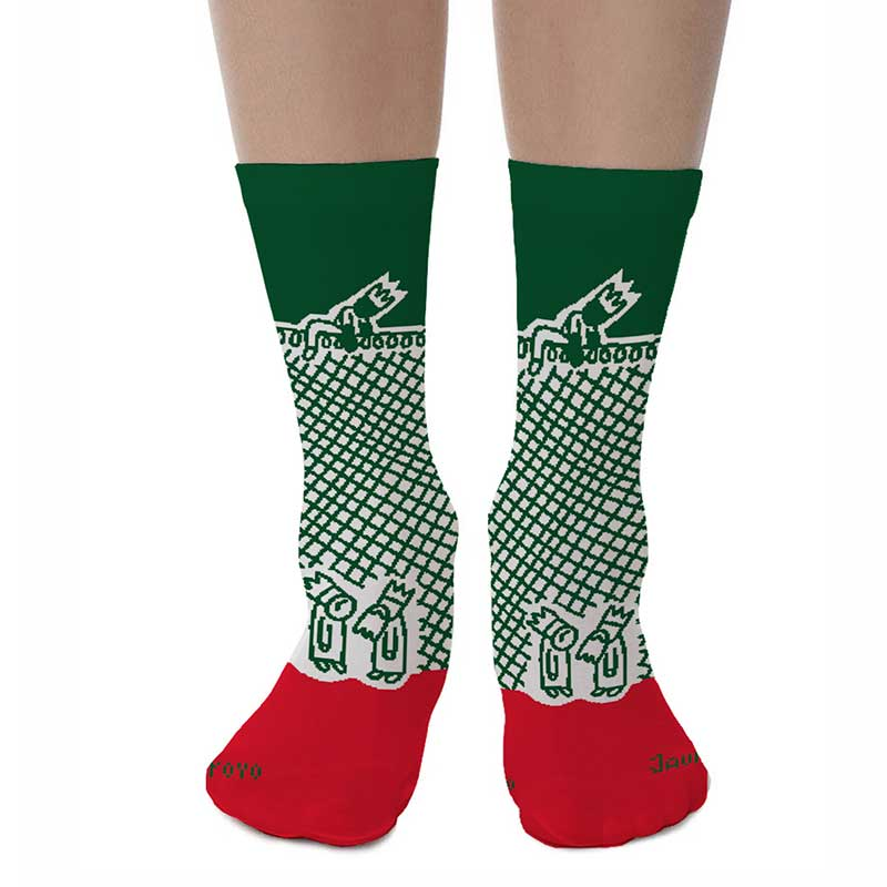 Melilla Socks by Javirroyo calcetines Navidad Javirroyo