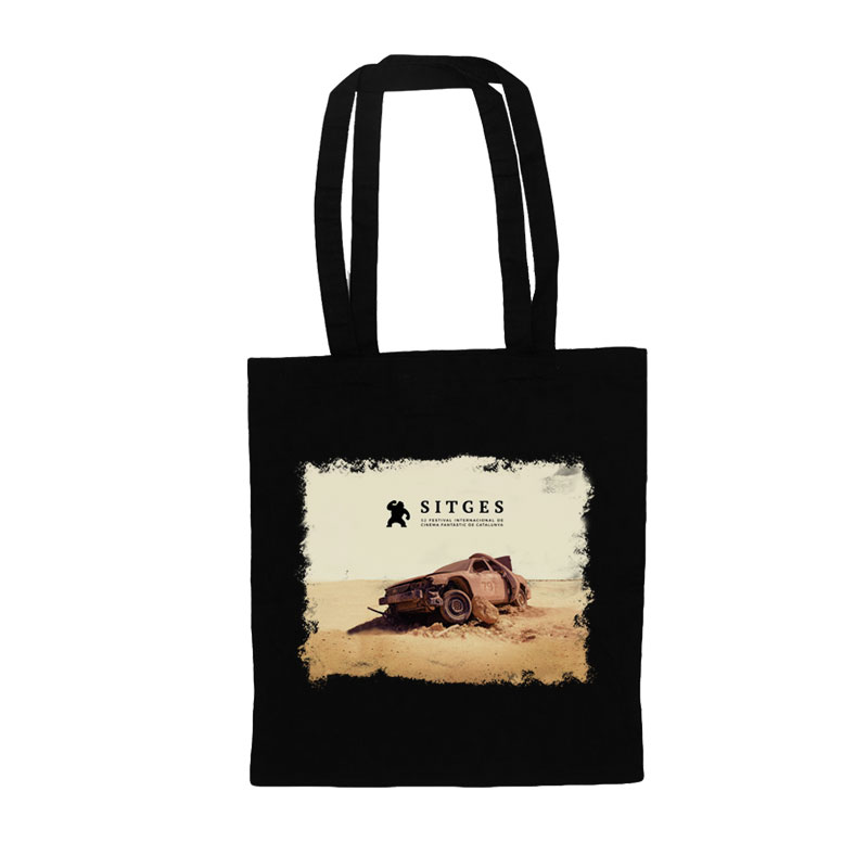 Sitges Film Festival 2019 tote bag printed with the poster image