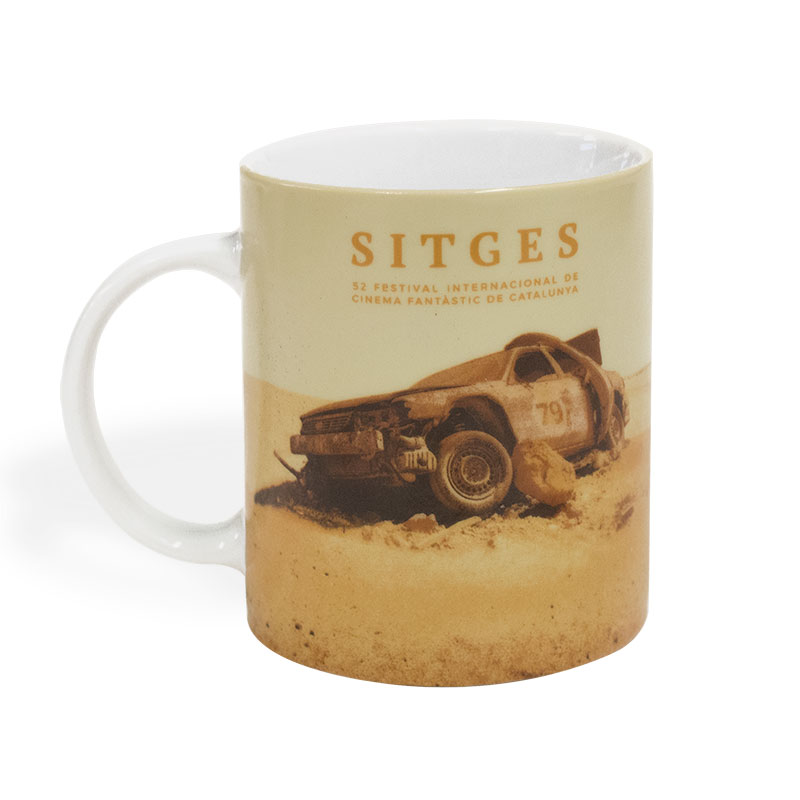 Sitges 2019 ceramic mug printed with the 2019s poster image of the Sitges Film Festival