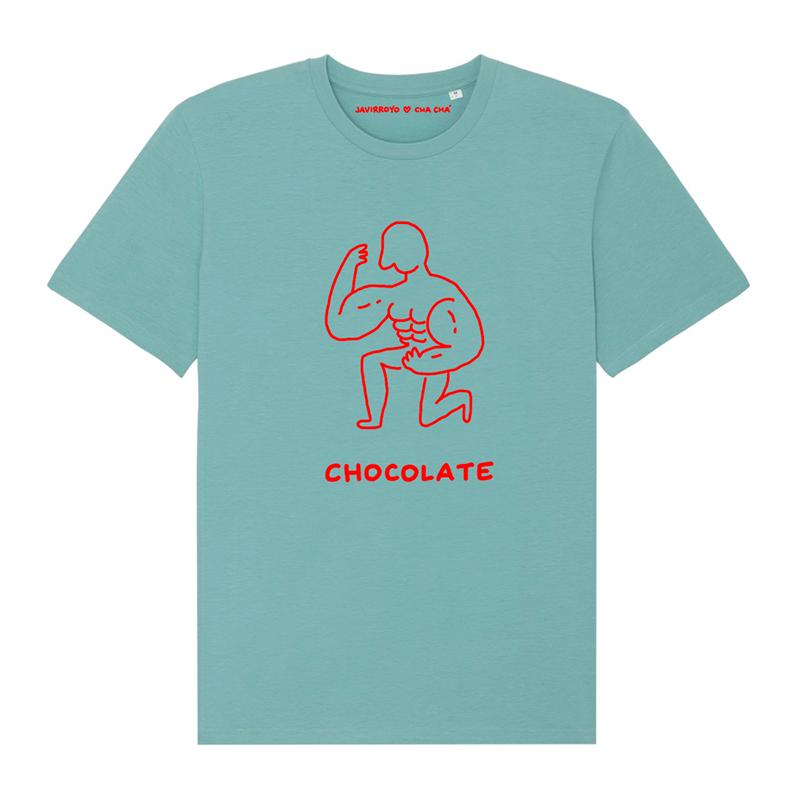 chocolate unisex t-shirt by javirroyo