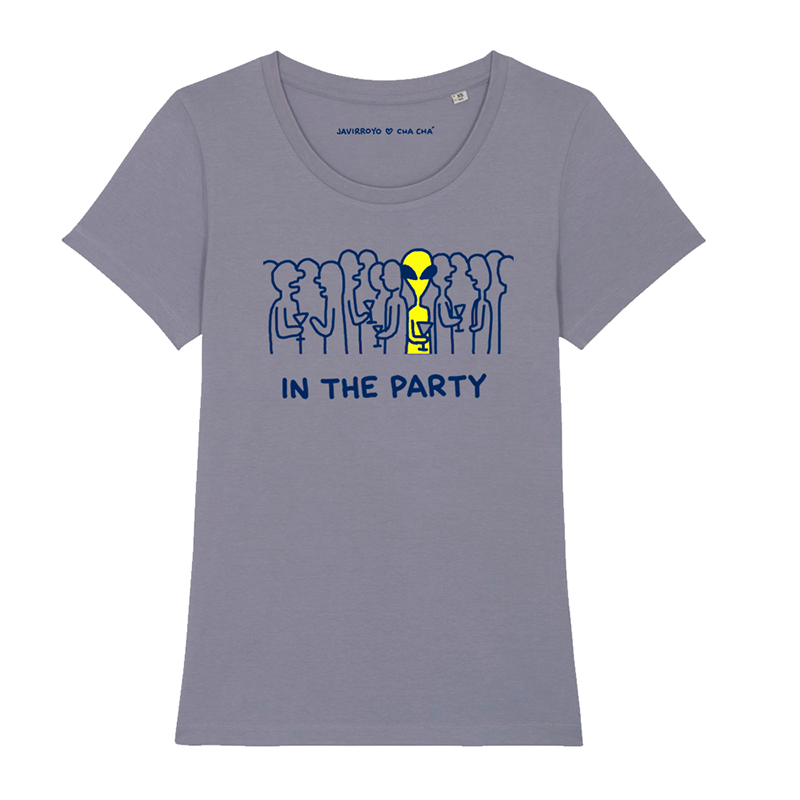 in the party woman t-shirt by javirroyo