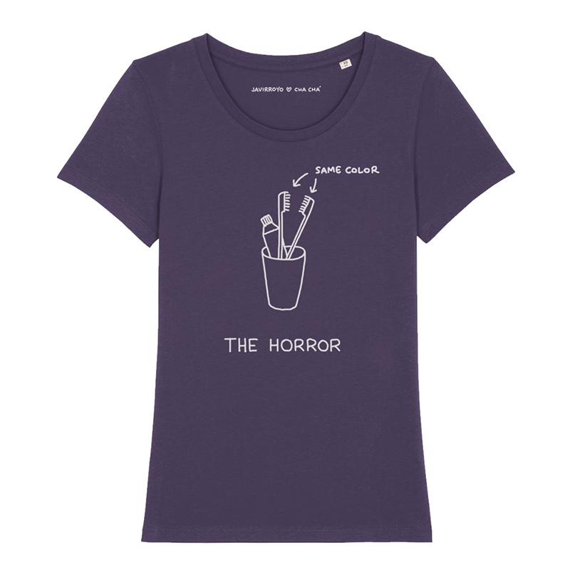 the horror woman t-shirt by javirroyo