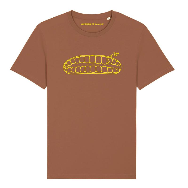 your ex unisex t-shirt by Javirroyo