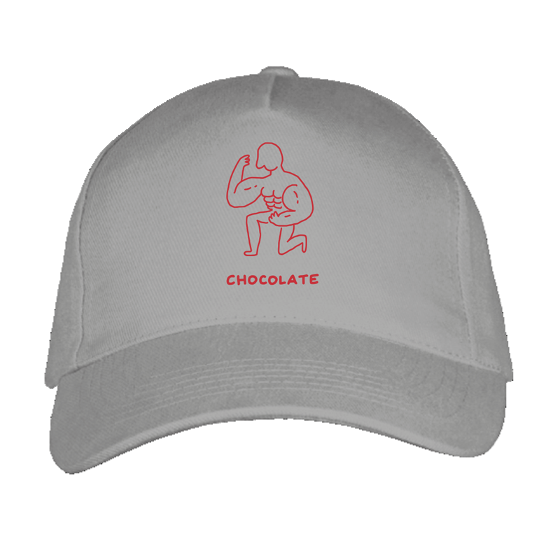 chocolate cap by javirroyo in grey colour