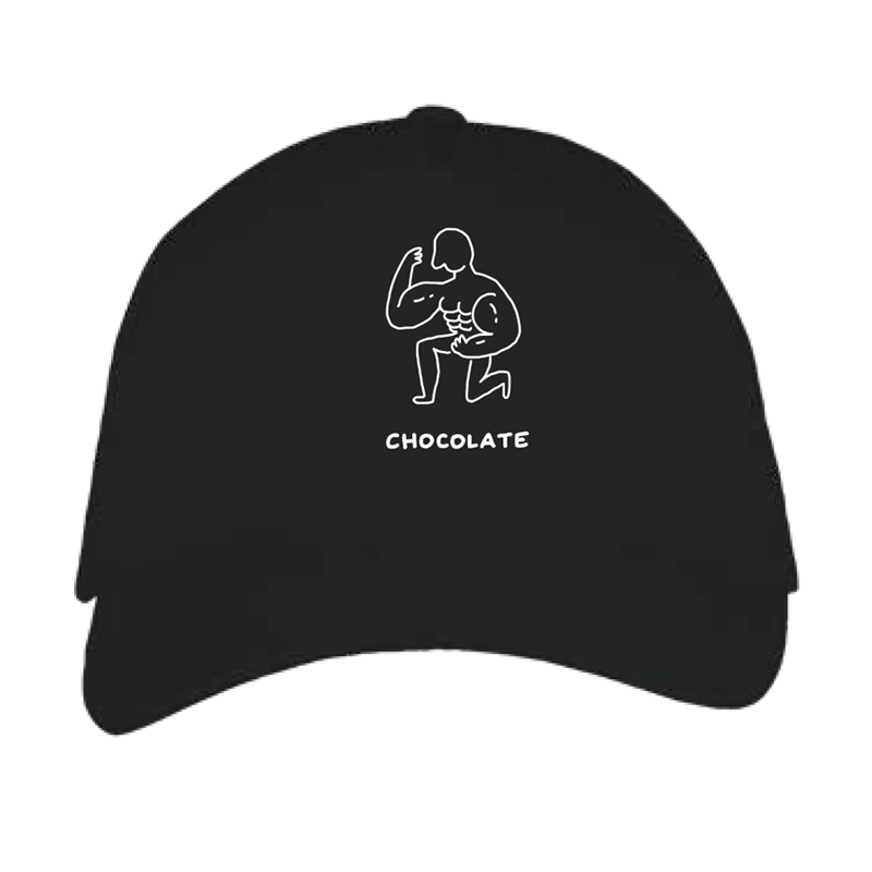 chocolate cap by javirroyo in black colour