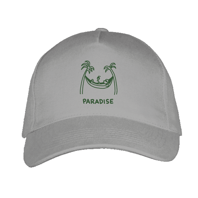 paradise cap by javirroyo in grey colour