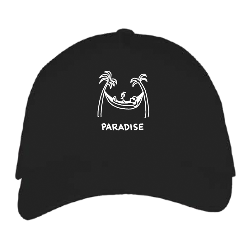 paradise cap by javirroyo in black colour