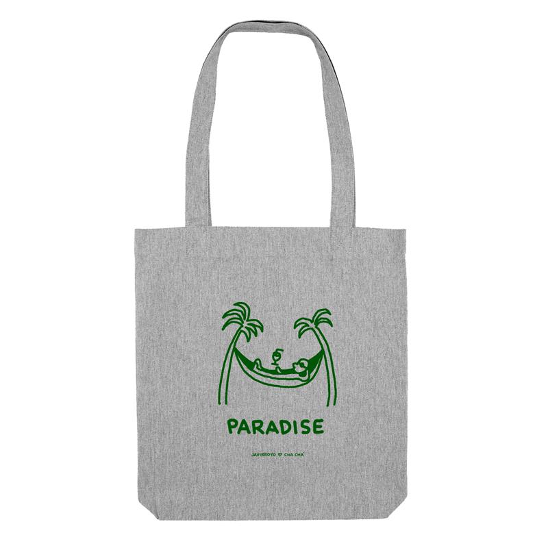 paradise tote bag by javirroyo