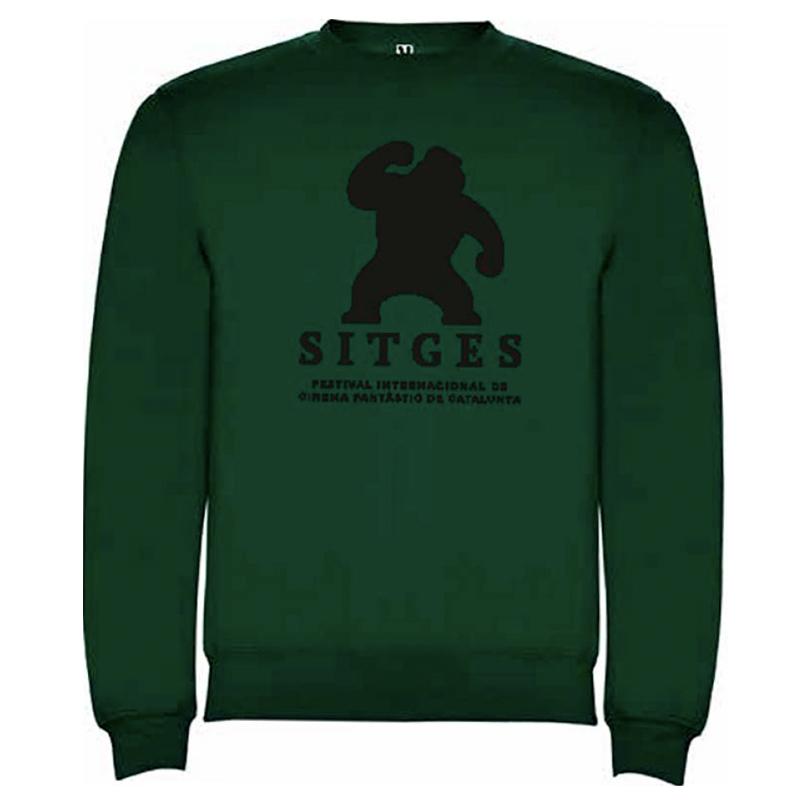 Sitges Bottle Green Sweatshirt