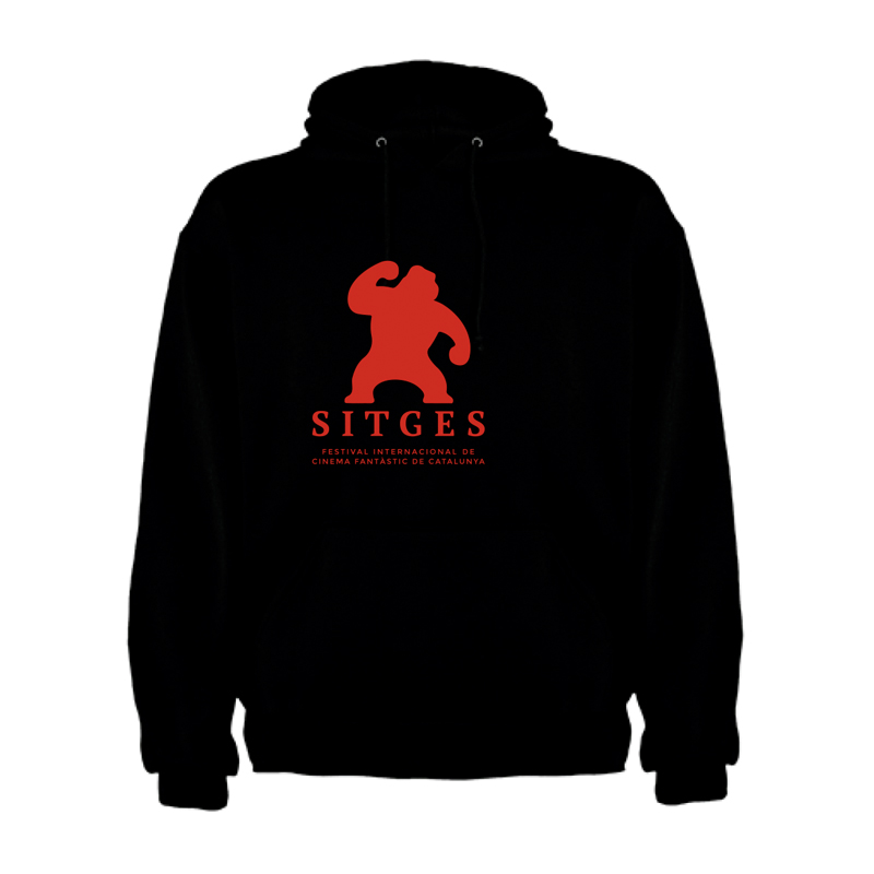 sudadera de niño color negro Festival de Sitges