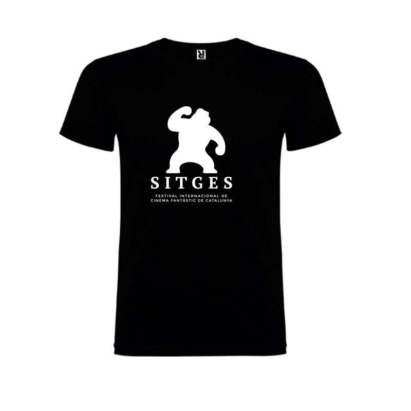 sitges kids black t-shirt