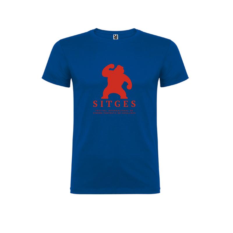 camiseta niños Festival de Sitges color azul