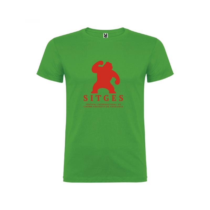Camiseta niños color verde Festival de Sitges