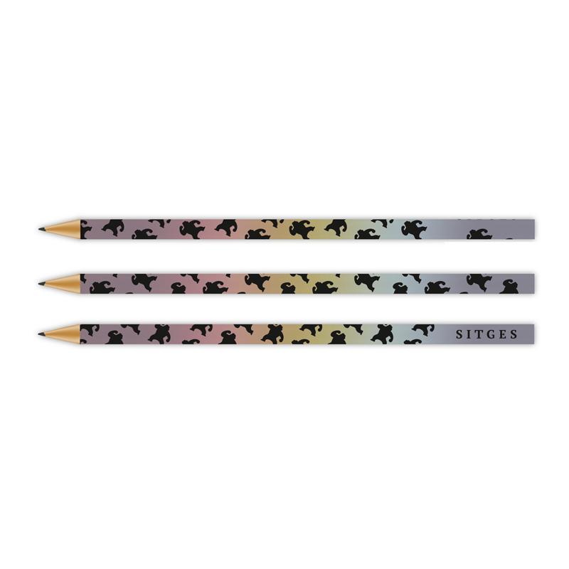 sitges film festival colored pencil