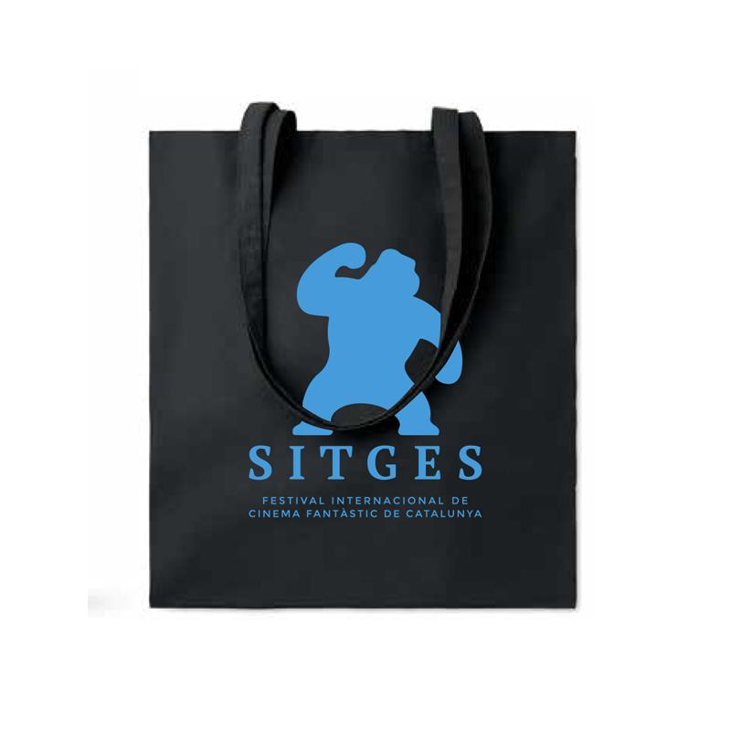 Sitges Black Tote Bag
